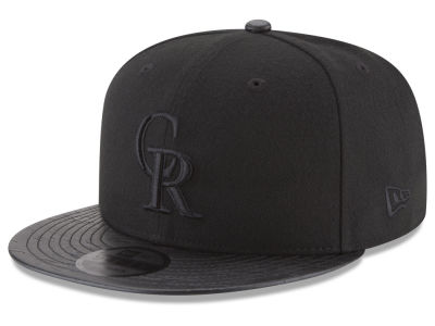 Colorado Rockies New Era MLB Camo Pressed 9FIFTY Snapback Cap