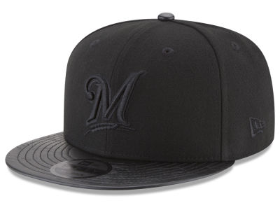 Milwaukee Brewers New Era MLB Camo Pressed 9FIFTY Snapback Cap