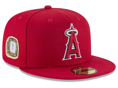 Los Angeles Angels New Era MLB Title Trim 59FIFTY Cap