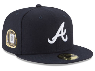 Atlanta Braves New Era MLB Title Trim 59FIFTY Cap