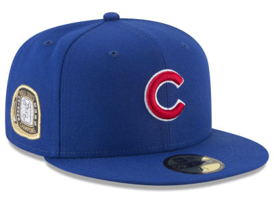 Chicago Cubs New Era MLB Title Trim 59FIFTY Cap