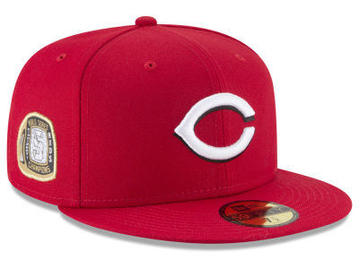 Cincinnati Reds New Era MLB Title Trim 59FIFTY Cap