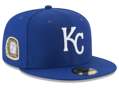 Kansas City Royals New Era MLB Title Trim 59FIFTY Cap