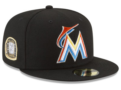 Miami Marlins New Era MLB Title Trim 59FIFTY Cap