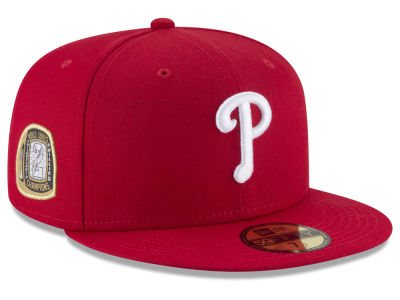 Philadelphia Phillies New Era MLB Title Trim 59FIFTY Cap