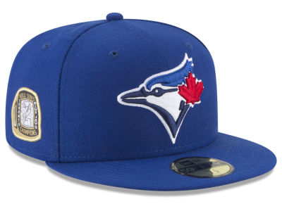Toronto Blue Jays New Era MLB Title Trim 59FIFTY Cap