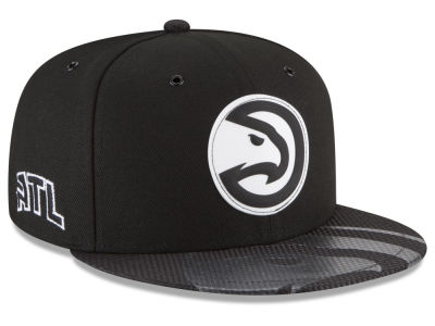 Atlanta Hawks New Era NBA Back 1/2 Series 9FIFTY Snapback Cap