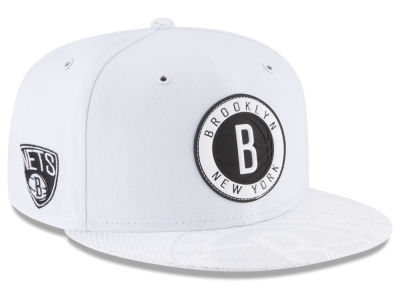 Brooklyn Nets New Era NBA Back 1/2 Series 9FIFTY Snapback Cap