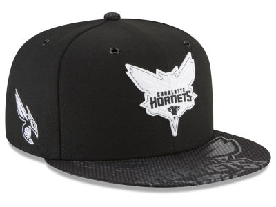 Charlotte Hornets New Era NBA Back 1/2 Series 9FIFTY Snapback Cap