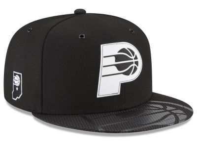Indiana Pacers New Era NBA Back 1/2 Series 9FIFTY Snapback Cap