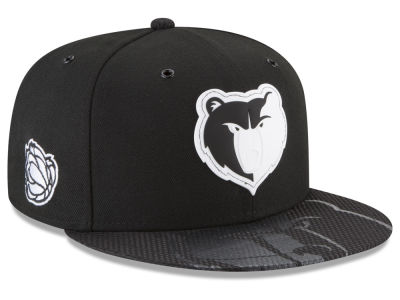 Memphis Grizzlies New Era NBA Back 1/2 Series 9FIFTY Snapback Cap