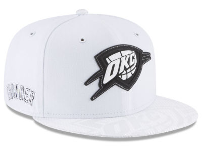 Oklahoma City Thunder New Era NBA Back 1/2 Series 9FIFTY Snapback Cap