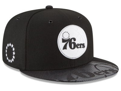 Philadelphia 76ers New Era NBA Back 1/2 Series 9FIFTY Snapback Cap