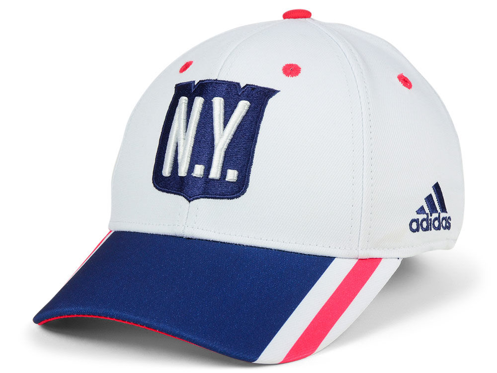 New York Rangers adidas 2018 NHL Winter Classic Team Flex Cap  b9a1d4690
