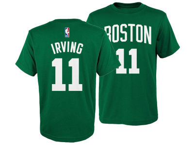 Boston Celtics Kyrie Irving Nike NBA Youth Icon Name and Number T-Shirt