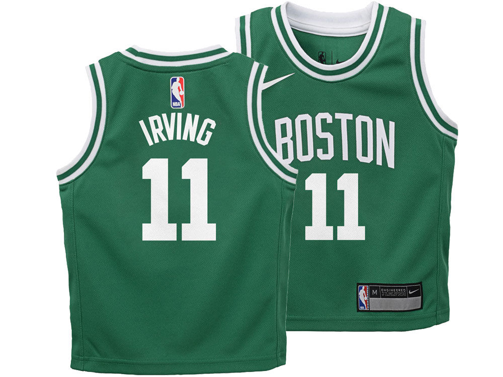huge selection of 6aaae cb5d9 clearance nike celtics 11 kyrie irving green nba authentic ...