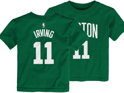 Boston Celtics Kyrie Irving Nike NBA Toddler Replica Name and Number T-Shirt