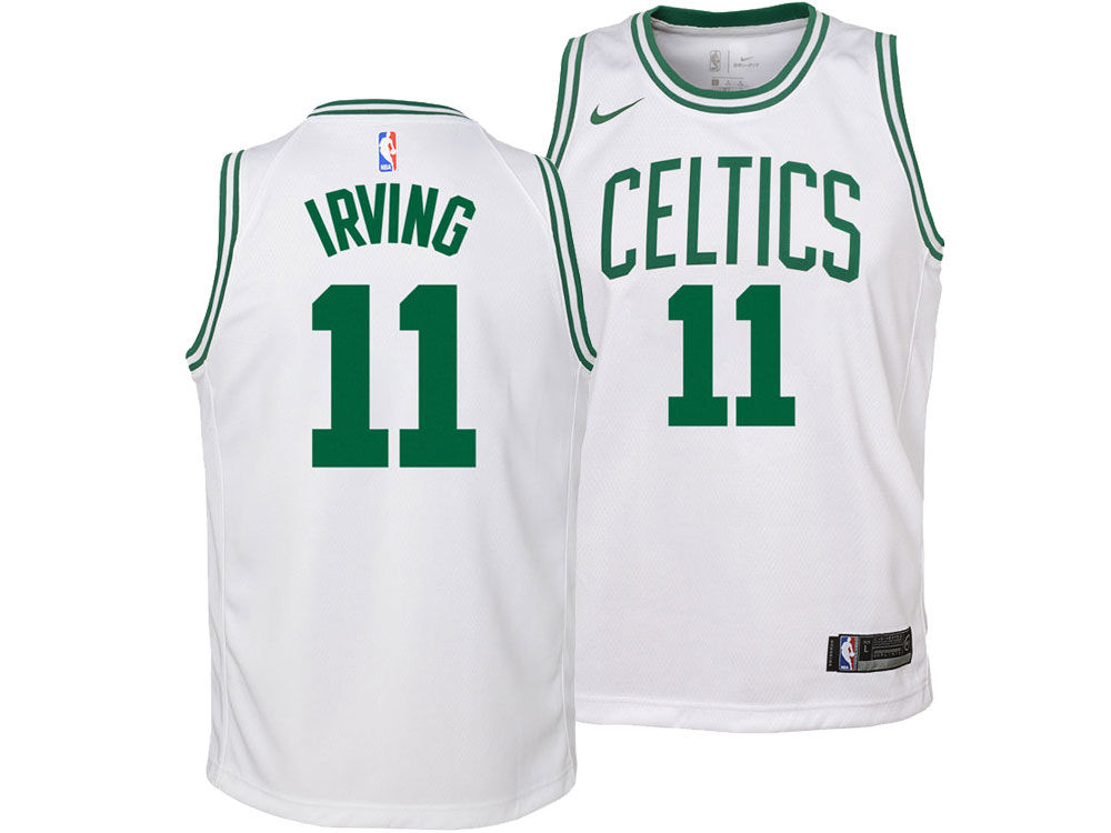 6e6844ce8 Boston Celtics Kyrie Irving Nike NBA Youth Association Swingman Jersey