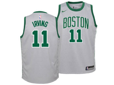 Boston Celtics Kyrie Irving Nike NBA Youth City Edition Swingman Jersey