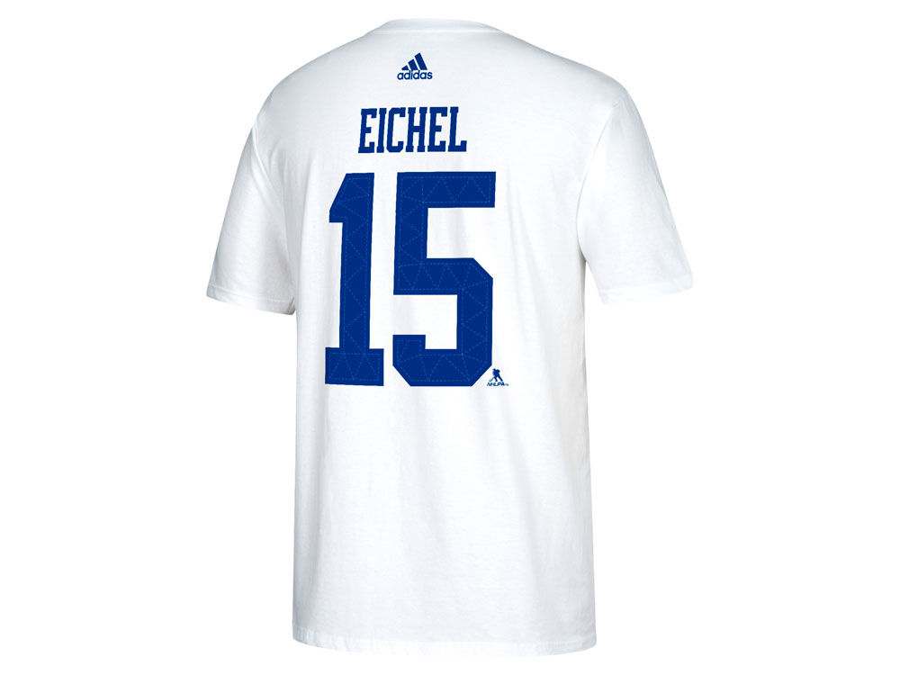 bc90d9452 Buffalo Sabres Jack Eichel adidas 2018 NHL Men s Winter Classic Authentic  Silver Player T-shirt