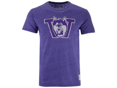 Washington Huskies Retro Brand NCAA Men's Mock Twist Vault Logo T-Shirt