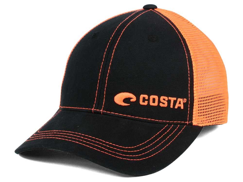 3d3c6bbfba low price costa del mar mesh hat orange purple 789ca 666ca  best costa neon  offset cap 53d47 5334d