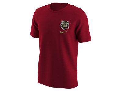 Georgia Bulldogs NCAA Men's Camo Logo T-Shirt