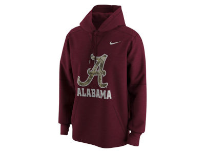 Alabama Crimson Tide NCAA Men's Camo Logo Hoodie