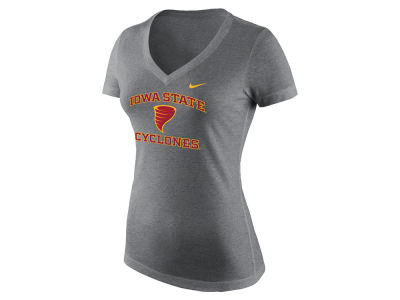Iowa State Cyclones Nike NCAA Women's Alternate Logo Tri-Blend T-Shirt