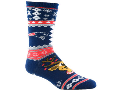 New England Patriots Holiday Socks