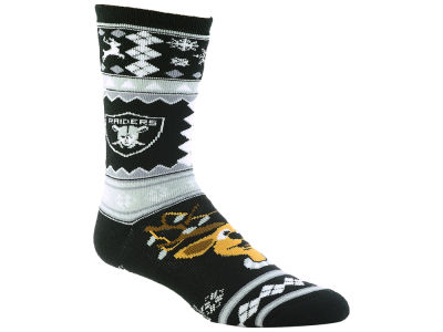 Oakland Raiders Holiday Socks