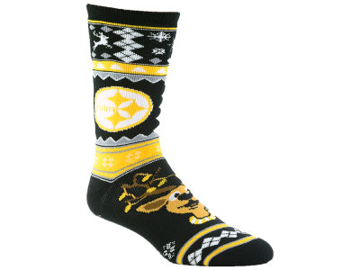 Pittsburgh Steelers Holiday Socks