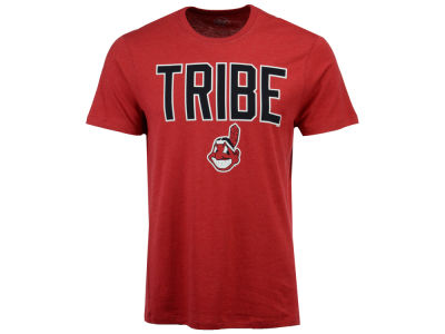 Cleveland Indians '47 MLB Men's Club Coop Script T-Shirt