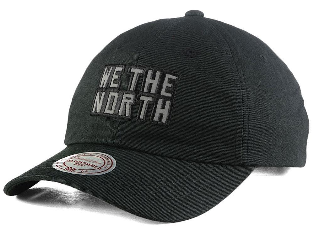 55a44808c0b Toronto Raptors We The North Mitchell   Ness NBA Reflective Logo Dad Hat