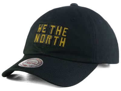 Toronto Raptors We The North  Mitchell & Ness NBA Reflective Logo Dad Hat