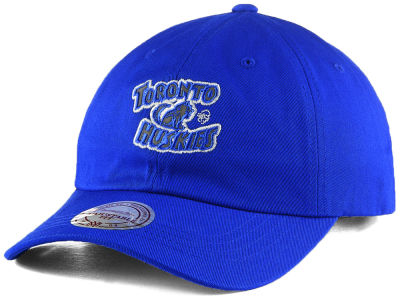 Toronto Huskies Mitchell & Ness NBA Reflective Logo Dad Hat