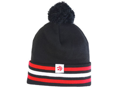 Toronto Raptors Mitchell & Ness NBA 3 Stripes Beanie
