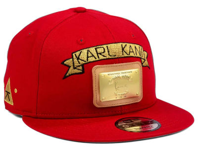 Karl Kani Gold Plate 9FIFTY Snapback Cap