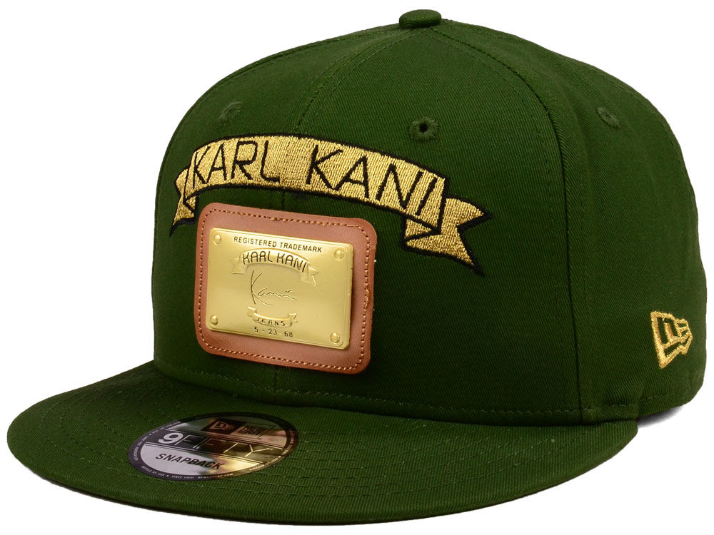 Karl Kani Gold Plate 9FIFTY Snapback Cap  082f399877c
