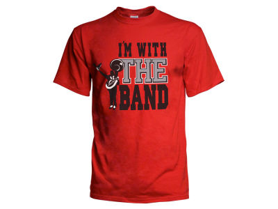 J America NCAA Men's I'm With The Band T-Shirt 3X