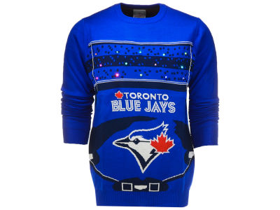 Toronto Blue Jays Klew 2017 MLB Men's Light Up Ugly Sweater