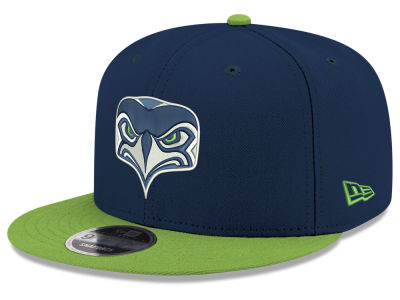 Seattle Seahawks New Era NFL Basic Team 9FIFTY Snapback Cap