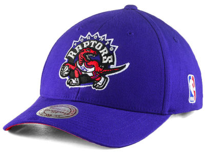 Toronto Raptors Mitchell & Ness NBA Hardwood Classic Flexfit Low Profile Snapback Cap