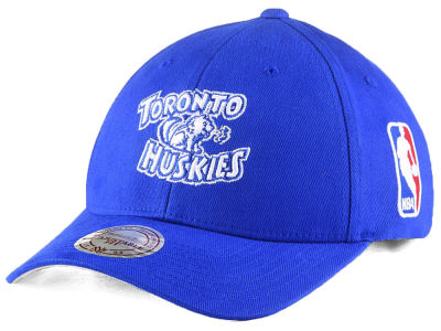 Toronto Huskies Mitchell & Ness NBA Hardwood Classic Flexfit Low Profile Snapback Cap