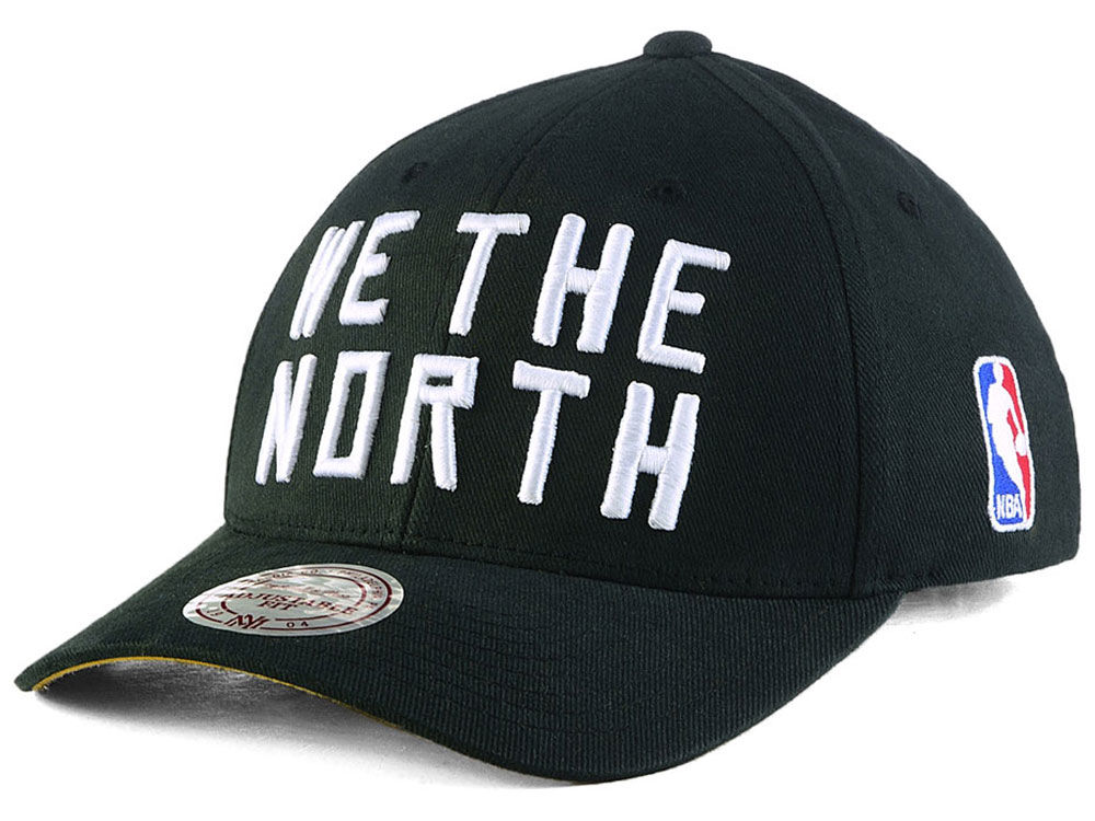 3bf71403cda Toronto Raptors We The North Mitchell   Ness NBA Flexfit 110 Low Pro  Snapback Cap