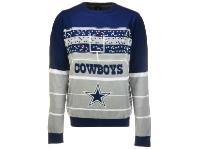 Dallas Cowboys Klew 2017 NFL Men's Light Up Ugly Sweater