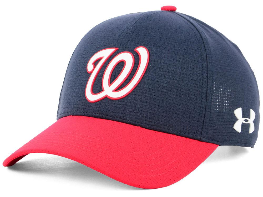 Washington Nationals Under Armour MLB Driver Cap  9052d9b4232