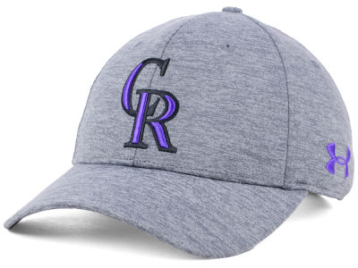 Colorado Rockies Under Armour MLB Twist Closer Cap