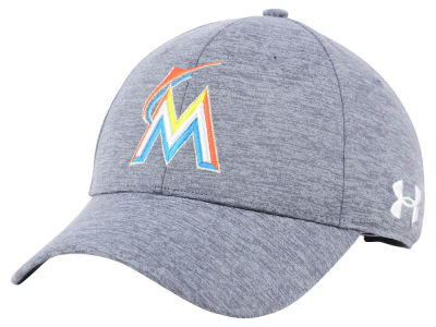 Miami Marlins Under Armour MLB Twist Closer Cap