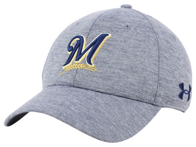 Milwaukee Brewers Under Armour MLB Twist Closer Cap